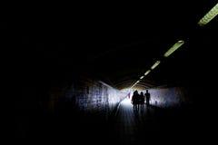 Tunnel foncé Images stock