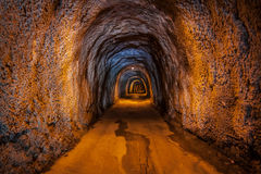 Tunnel Royalty Free Stock Photography