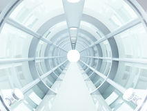 Tunnel futuriste illustration stock