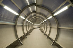 Tunnel futuriste Photographie stock libre de droits