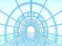 Tunnel futuristic Stock Images