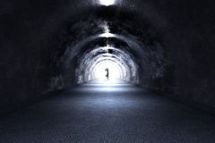 Tunnel Ghost Stock Photography