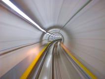 Through the tunnel Royalty Free Stock Photos