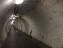 Tunnel. Greenwich foot tunnel under the River Thames Royalty Free Stock Photography