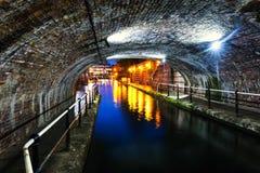 Tunnel in het stadscentrum van Birmingham, het UK royalty-vrije stock foto's