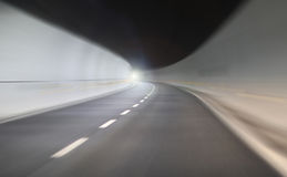Tunnel high speed abstract Stock Photo