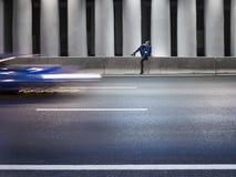 Tunnel highway Stock Photo