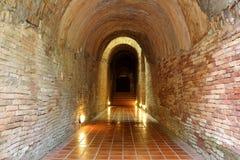 Tunnel i tempel 2 arkivbilder
