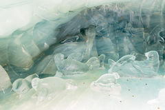 Tunnel Ice Palace Royalty Free Stock Image