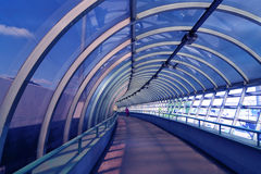 Free Tunnel In Blue Stock Photo - 5368850