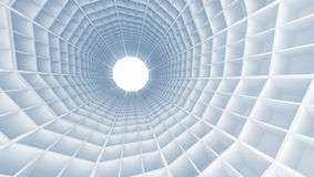 Tunnel interior with cell Royalty Free Stock Photo