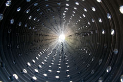 Tunnel of Light Stock Images