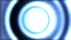 Tunnel light effect stock video footage