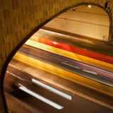 Tunnel Light Trails Royalty Free Stock Photo