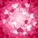 Tunnel of love Royalty Free Stock Image