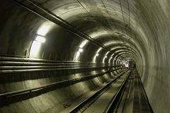 Tunnel LRT royalty-vrije stock foto's