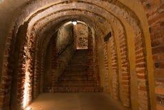 Tunnel médiéval Images libres de droits