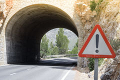 A Tunnel on Mallorca, Spain Royalty Free Stock Photo