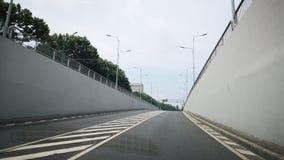 Tunnel med inga bilar fotografering för bildbyråer
