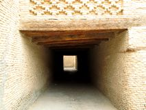 Tunnel in the medina Royalty Free Stock Photos