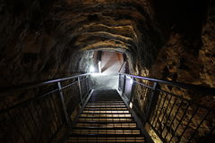 The Tunnel of Megiddo, the revelations last battle Royalty Free Stock Photography