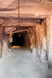 Tunnel mine Royalty Free Stock Photo