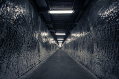 The tunnel - into the mine. Stock Photography