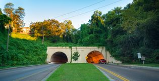 Tunnel at Missionary Ridge Stock Image