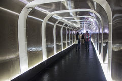 Tunnel of Morumbi stadium - Sao Paulo - Brazil Royalty Free Stock Photo