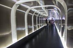 Tunnel of Morumbi stadium - Sao Paulo - Brazil Royalty Free Stock Photo