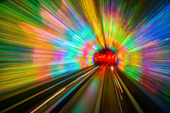 Tunnel Motion Blur Royalty Free Stock Image