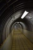 Tunnel muto fotografia stock libera da diritti