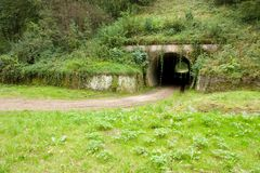 Tunnel in nature Royalty Free Stock Photos