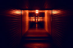 Tunnel near to to Moscow Red Square. Dark tunnel near to Moscow Red Square Stock Photo
