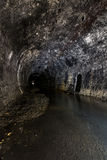 Tunnel No. 8. The abandoned Pennsylvania Railroad Tunnel No. 8 along the Panhandle Route in eastern Ohio Stock Photos
