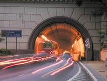 Tunnel Nove de Julho royaltyfri bild