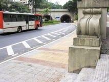 Tunnel Nove de Julho stock images