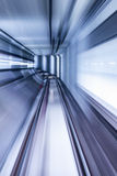 Tunnel NYC de souterrain Photo stock