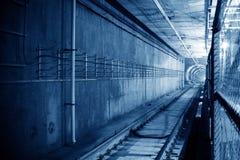 Tunnel NYC del sottopassaggio Fotografie Stock Libere da Diritti
