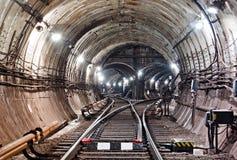Tunnel NYC del sottopassaggio Kiev, Ucraina Kyiv, Ucraina Fotografie Stock Libere da Diritti