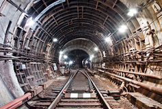 Tunnel NYC del sottopassaggio Kiev, Ucraina Kyiv, Ucraina Fotografia Stock