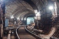 Tunnel NYC del sottopassaggio Kiev, Ucraina Kyiv, Ucraina Fotografie Stock