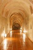 Tunnel och ljust gräva Royaltyfri Bild