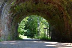 Tunnel onder de brug royalty-vrije stock afbeeldingen