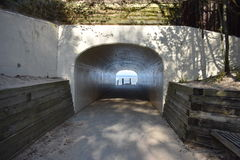 Tunnel Park in Holland Royalty Free Stock Photos