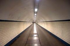 Tunnel pedonale Fotografie Stock