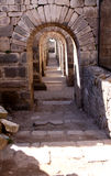 Tunnel in Pergamon royalty free stock images