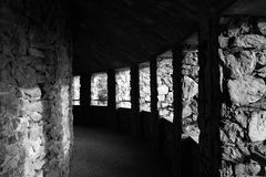 Tunnel piétonnier Photo stock