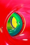 Tunnel on playground Stock Photo