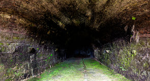 Tunnel in Portobelo Panama. Tunnel from portobelo fort in colon panama. Here weapon were stored Stock Photography